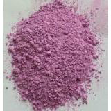 Cobalt carbonate is a red monoclinic crystalline or powder.